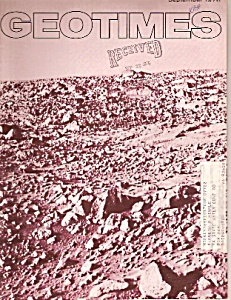 GeoTimes magazine-  September 1976 (Image1)