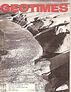 GeoTimes magazine - December 1976 (Image1)