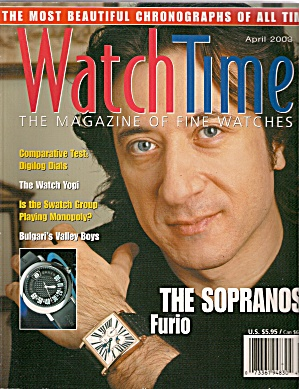 Watch Time Magazine - April 2003 (Image1)