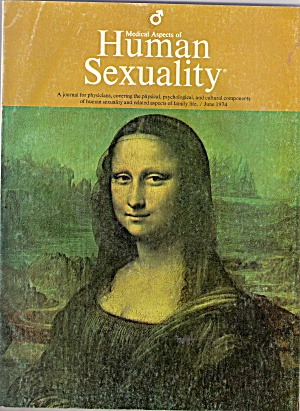 Medical aspects of HUMAN SEXUALITY - June 1974 (Image1)