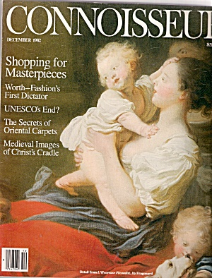 CONNOISSEUR magazine -  December 1982 (Image1)
