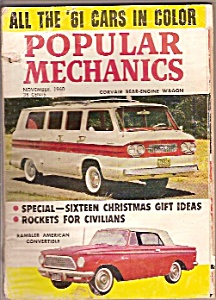 Popular Mechanics - November 1960 (Image1)