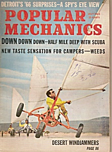 Popular Mechanics -  July 1965 (Image1)