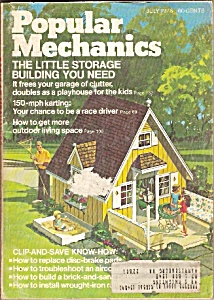 Popular Mechanics Magazine-= July 1973