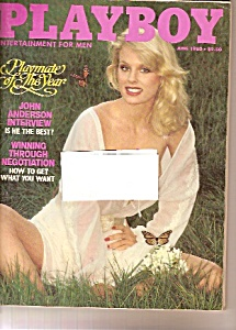 Playboy Magazine- June 1980