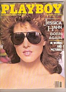 Playboy magazine-  November 1987 (Image1)