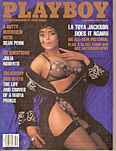 Playboy magazine-  November 1991 (Image1)