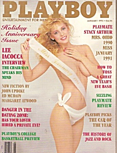 Playboy magazine -  January 1991 (Image1)