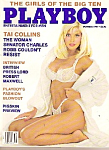 Playboy Magazine -october 1991