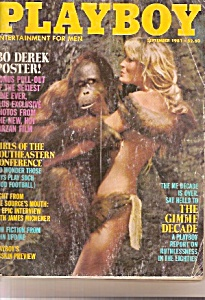Playboy magazine =  September 1981 (Image1)