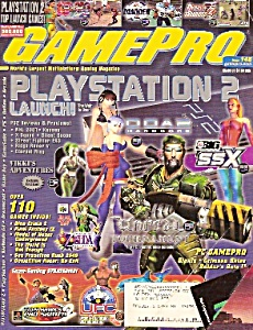 GAME PRO -(Gaming magazine) -  November 2000 (Image1)