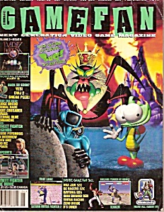 GAME FAN (Video game magazine) =  June 1995 (Image1)
