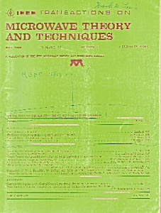 Microwave theory & Techniques =-  May 1988 (Image1)