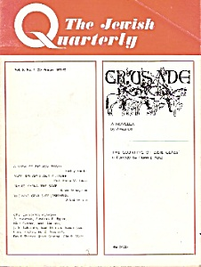 The Jewish Quarterly magazine -  Winter 1971/1972 (Image1)