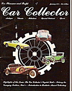 Car collector magzine -  January 1978 (Image1)
