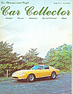 Car Collector magazine -  July 1978 (Image1)