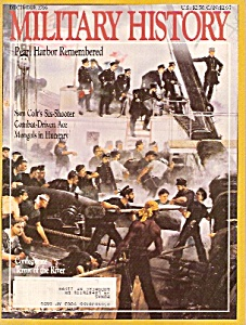 Military History magazine-  December 1986 (Image1)