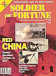 Soldier Of Fortune Magazine - September 1987
