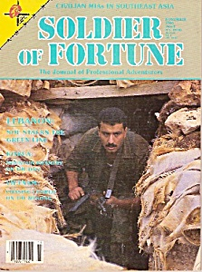 Soldier of Fortune magazine -  Nov ember 1986 (Image1)