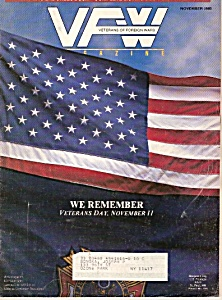 VFW Magazine =  November 1988 (Image1)