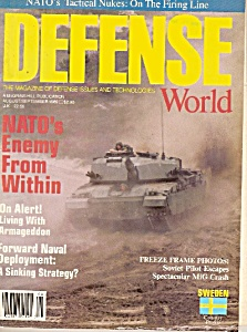 Defense World - August/september 1989
