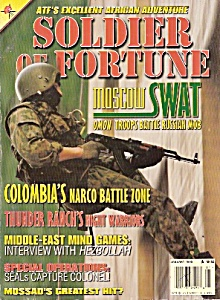 Soldier  of  Fortune magazine -  January 1998 (Image1)