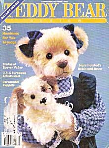 Teddy Bear review magazine =- September/October 1993 (Image1)