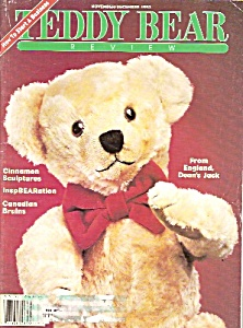 Teddfy Bear Review magazine - November/December 1993 (Image1)