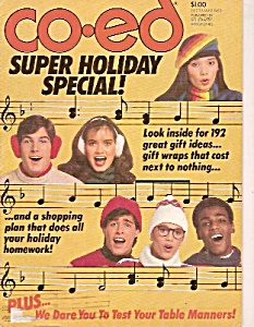 Co-Ed Magazine -= December 1981 (Image1)