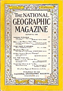 The National Geographic Magazine -  October 1956 (Image1)
