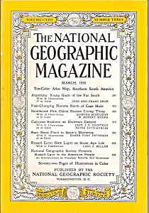 The National Geographic Magazine -= March 1958