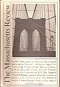 The Massachusetts Review -  Summer 1963 (Image1)