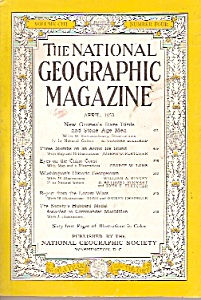 The National Geographic magazine -  April  1953 (Image1)