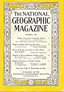 The National Geographic magazine = August 1953 (Image1)