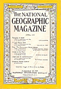 The National Geographic magazine -  April 1950 (Image1)