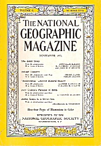 The National  Geographic magazine -  November 1951 (Image1)