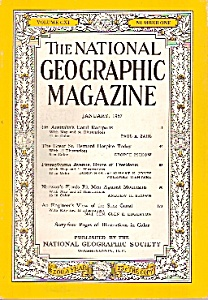 The National Geographic magazine =-  January 1957 (Image1)