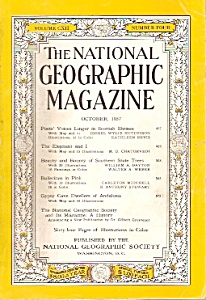 The National Geographic magazine- October 1957 (Image1)
