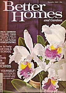 Better Homes and Gardens -=  November 1962 (Image1)