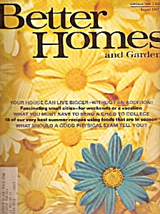 Better Homes and Gardens =-  August 1967 (Image1)