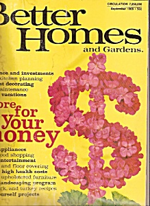 Better Homes and Gardens -=  ;September 1968 (Image1)