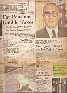 Grit Newspaper - January 23, 1972