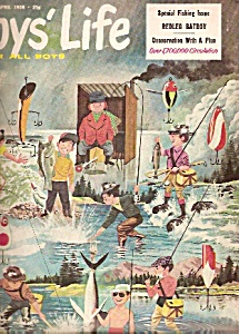 Boys  Life magazine -=  April 1958 (Image1)