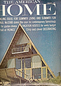 The American Home Magazine - July/august 1962