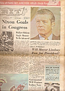 Grit Newspaper - August 8, 1971