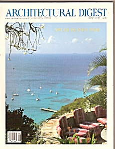 Architectural Digest - August 1, 1990 (Image1)