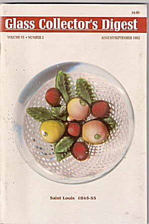 Glass Collector's igest - August/September 982 (Image1)
