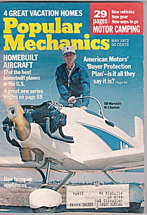 Popular Mechanics - May 1972