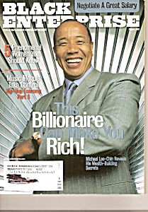 Black Enterprise Magazine-  August 2002 (Image1)