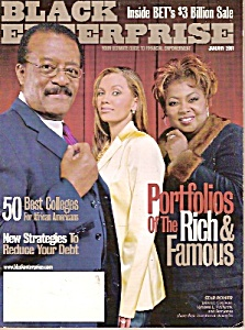 Black Enterprise magazine - January 2001 (Image1)